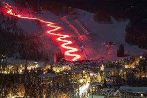 torchlight ski down