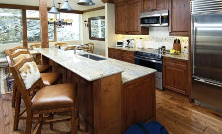 condo kitchen interior