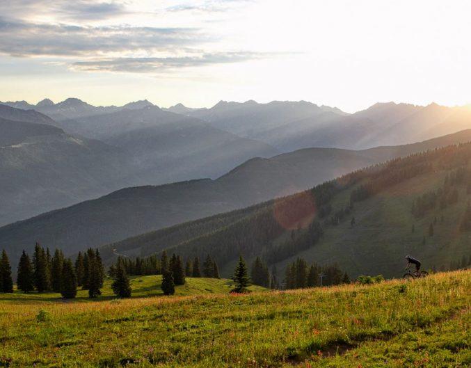 Vail Mountains Summer Biking